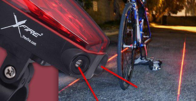 Una pista ciclabile virtuale a portata di laser