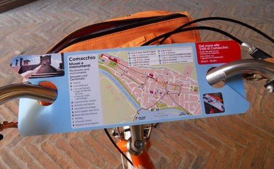 Arriva la BikeMap per pedalare nelle città d'arte