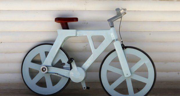 Cardboard Bike: la bici di cartone