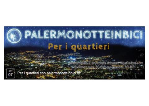 PALERMO NOTTE IN BICI