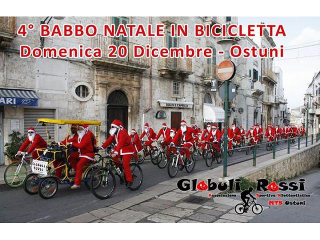 Babbo Natale In Bicicletta.Ostuni Babbo Natale In Bicicletta Ostuni Trova Biker