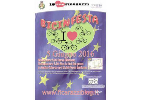 Bicinfesta II edizione - Ficarazzi 5 giugno 2016