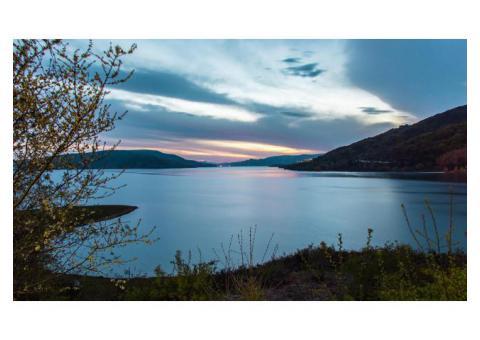Pedalando intorno lago di Campotosto - Cicloturismo - Domenica 24 Luglio 2016