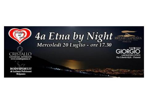 'Etna by night' - Scalata in bici il 20 luglio 2016
