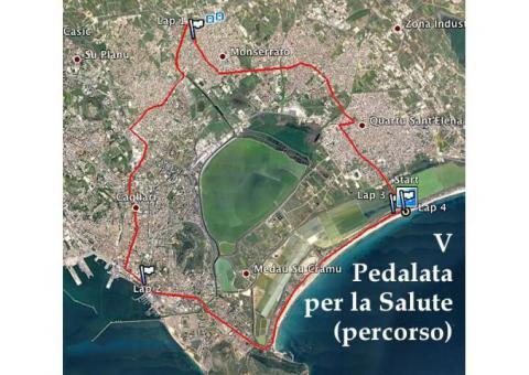 5° PEDALATA DELLA SALUTE – POETTO – DOMENICA 18 SETTEMBRE 2016