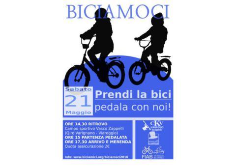 BICIAMOCI – prendi la bici, pedala con noi!